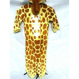 Childs Giraffe Costume 2 Piece Unisex